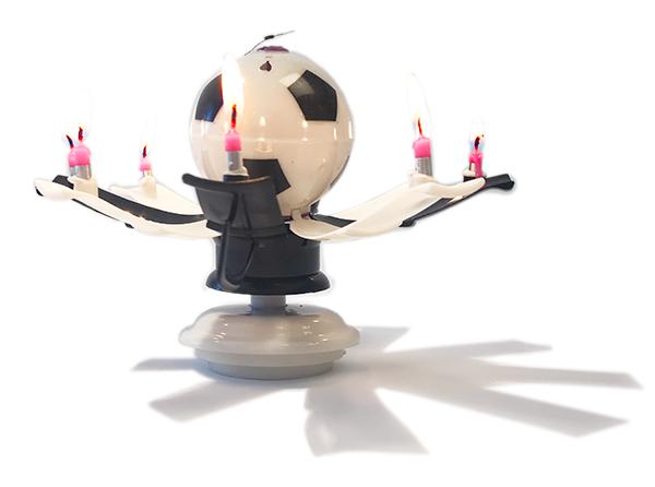 syngende fotball
