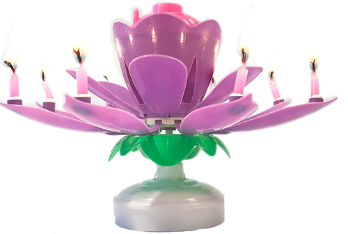 Lotus-flower-candle